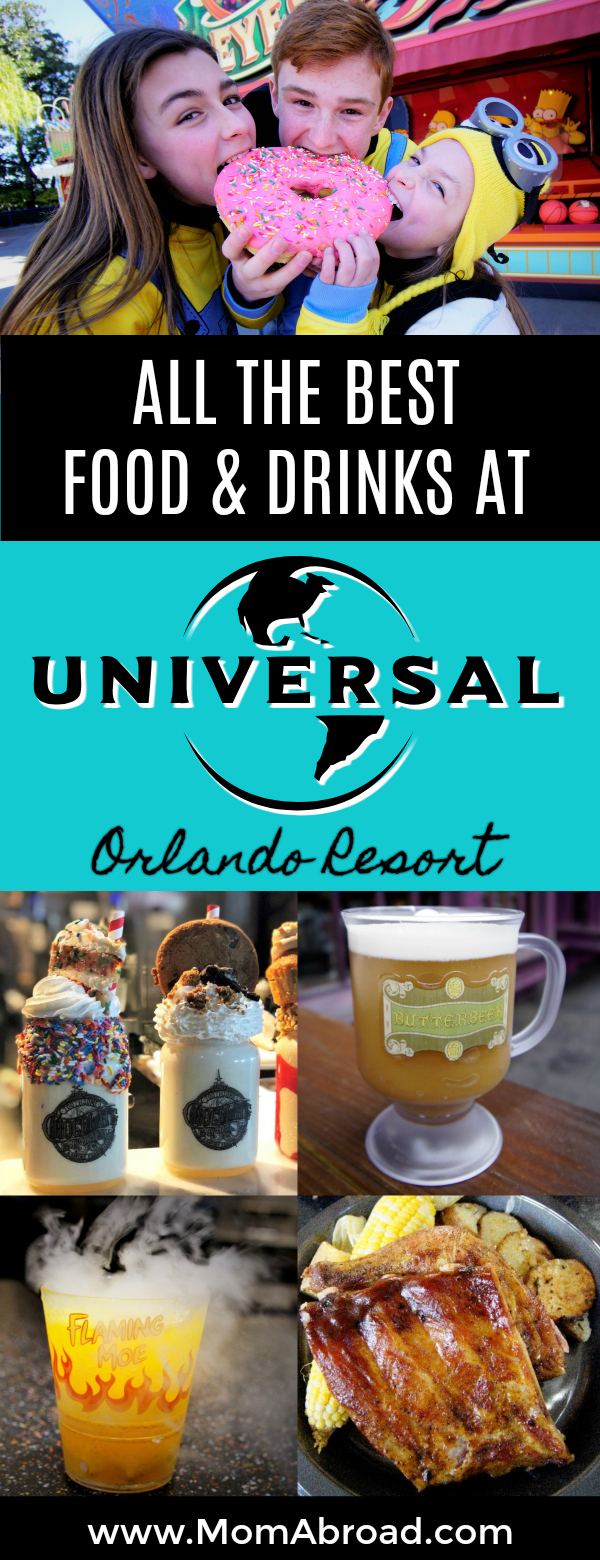 From serene sit-down restaurants to quick grab and go snack carts Universal Orlando Resort offers up the some of the tastiest, most iconic and deliciously daring eats you'll ever experience. Don't plan your next trip to Universal Orlando Resort without checking out this list of the best beverages, sweet treats, quick eats and full-service favorites.