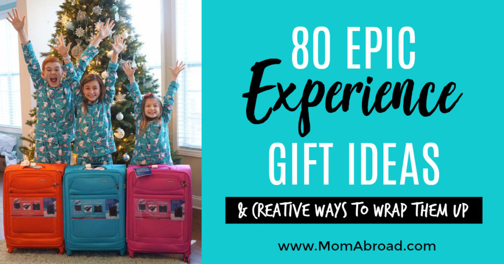 The ultimate guide to toy-free experience gift ideas that are clutter-free, - Mom Abroad - 80 Epic Experience Gift Ideas And Creative Ways To Wrap