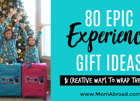 The ultimate guide to toy-free experience gift ideas that are clutter-free, super fun and make lasting memories! Plus creative ways to wrap experience gifts up!